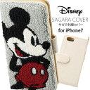 ディズニー iPhone7 iPhone6s iPhone6 ケース カバー 手帳型ケース ミッキーマウス iP7-DN29