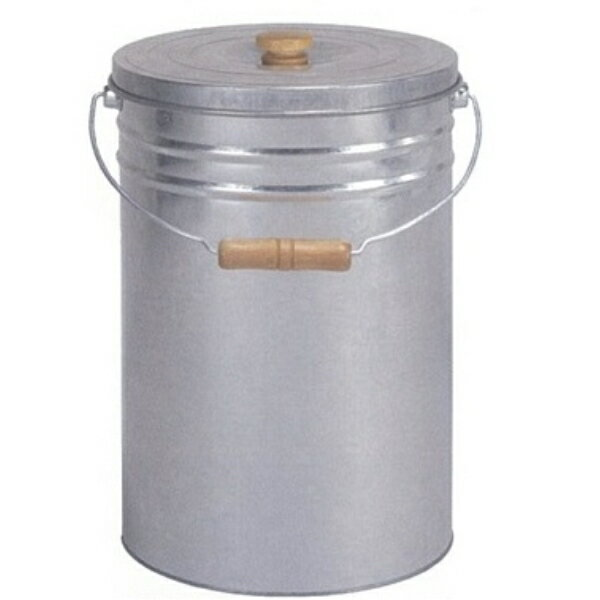 三和金属 トタン丸型米びつ TMK-12