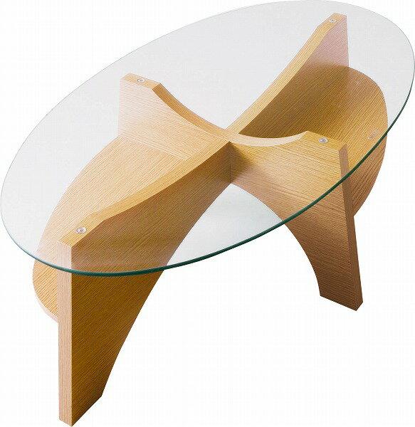 東谷 あづまや オーバルテーブル ナチュラル LE-454NA