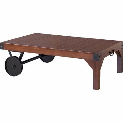 東谷 トロリーテーブル TTF-116 W106×D66×H33cmの写真