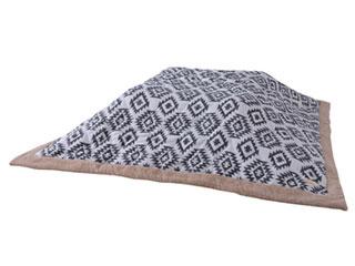 薄掛けコタツ布団 kk-145 正方形   天板サイズ 以下 コタツ 掛布団 こたつ マット 暖房 炬燵 ふとん こたつ布団 もこもこ ふわふわ 柄 ペイズリーの写真