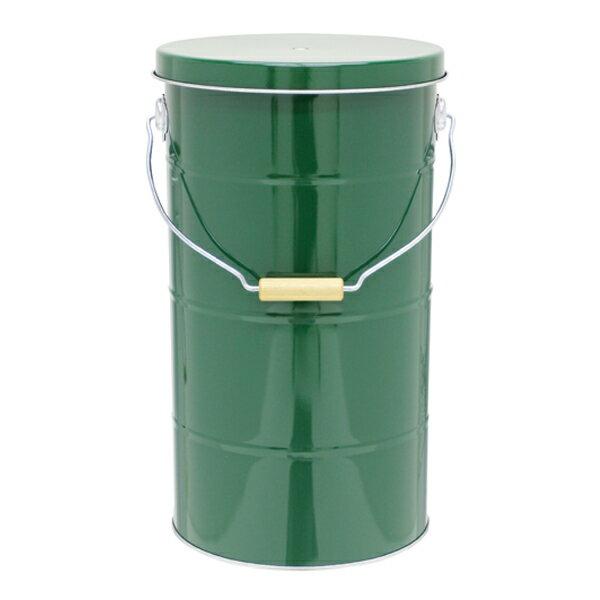 ライスストッカー お米10kg グリーン RS 10 G 米びつ 保管庫 保存容器 調味料入れ 蔵元屋の写真