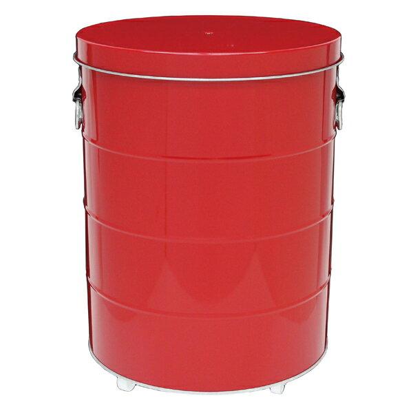 obaketsu キャスター ライスストッカーrs30r 米びつ サイズ赤の写真