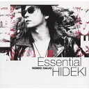 Essential HIDEKI~30th Anniversary Best Collection 1972-1999/CD/BVCK-38078画像
