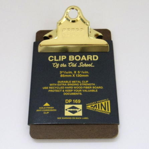 penco ペンコ クリップボード o/s ゴールド ミニ dp169の写真