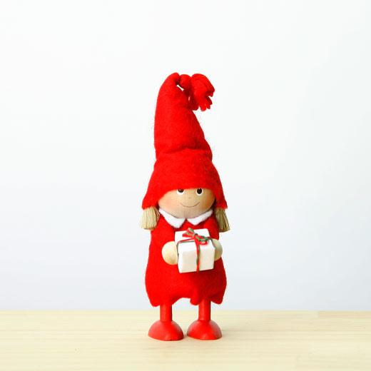 NORDIKA DESIGN ノルディカ ニッセ 人形を持った女の子 HD1819の写真
