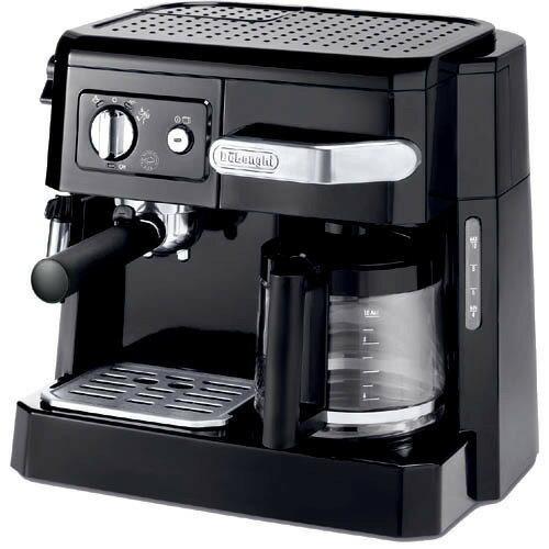 デロンギ コンビ・コーヒーメーカー ブラック BCO410J-B(1台)の写真
