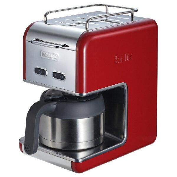 デロンギ ケーミックス ドリップコーヒーメーカー プレミアム レッド CMB5T-RD(1台)の写真