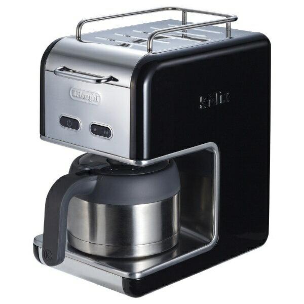 デロンギ ケーミックス ドリップコーヒーメーカー プレミアム ブラック CMB5T-BK(1台)