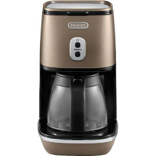 デロンギ ディスティンタコレクション ドリップコーヒーメーカー フューチャーブロンズ ICMI011J-BZ(1台)