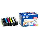 エプソン インクカートリッジ 6色パック IC6CL70