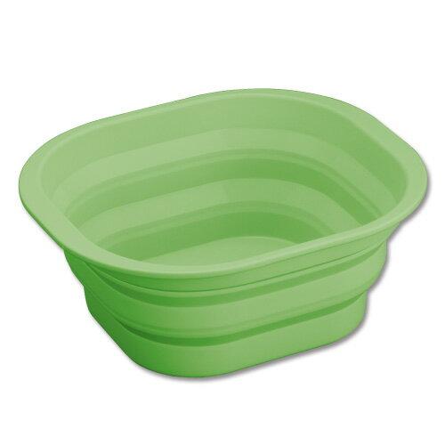たためるシリコン洗い桶(1コ入)の写真