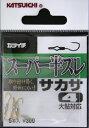 カツイチ(KATSUICHI) カツイチ(KATSUICHI) スーパー半スレサカサ(5本入) 4号