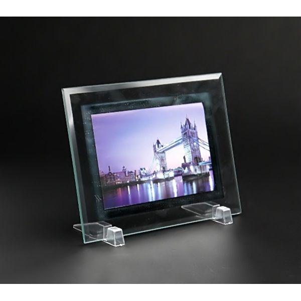 エコー ガラスフォトフレームフラット 1Pの写真