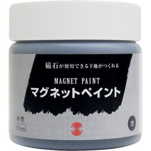 ターナー マグネットペイント 水性 黒 MG170031(170mL)