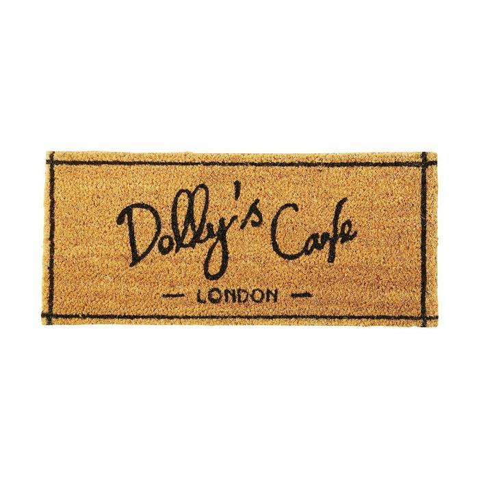 """インターフォルム コイヤマット Dolly's Caf〓 ブラウン """"ザ コーヒーストリート""""シリーズ - The Coffee Street - TJ-1539"""
