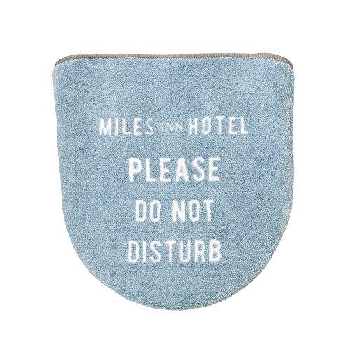 インターフォルム ≪Miles Inn Hotel≫トイレフタカバーFL-1781 グレー