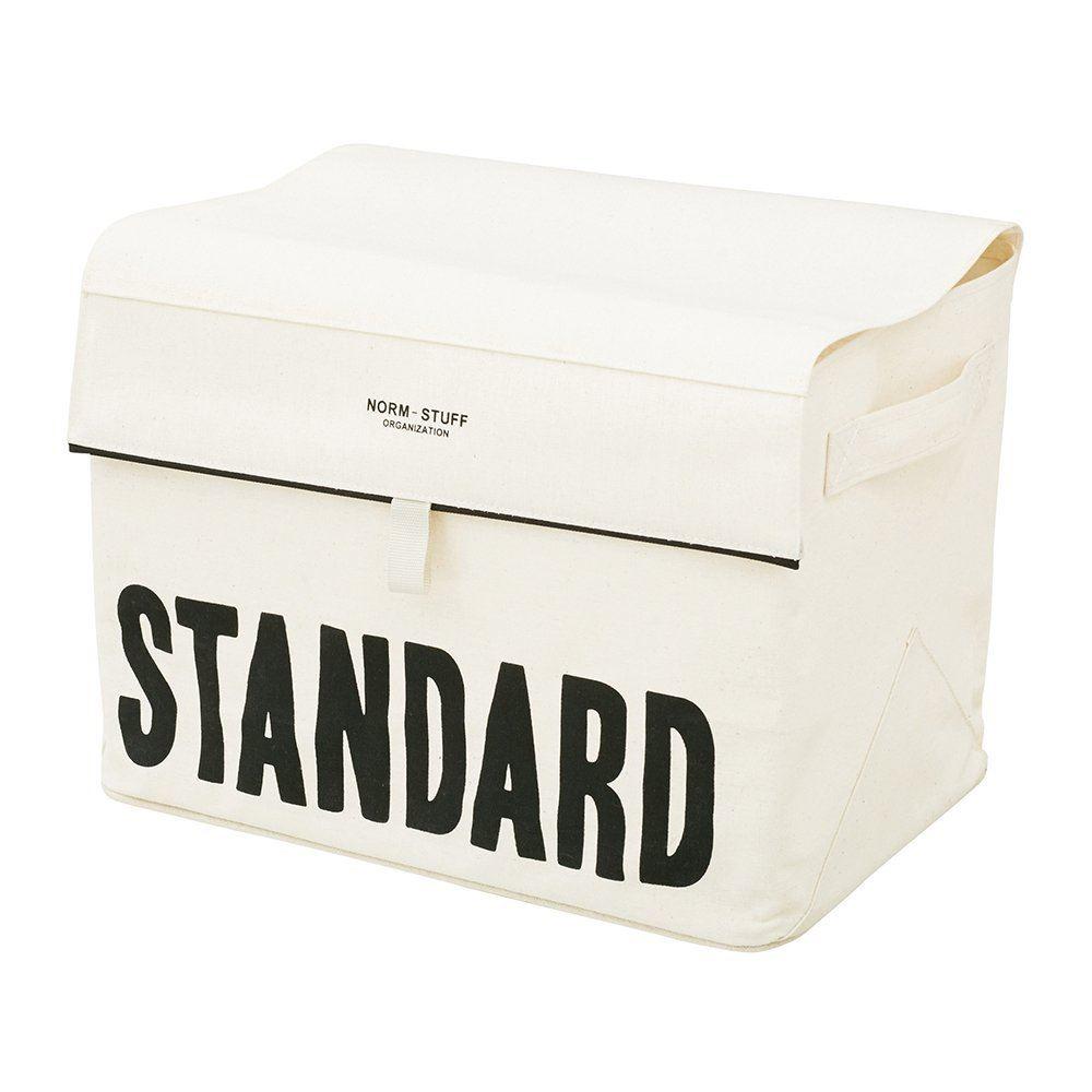 布製収納ボックス ザノームスタッフ アイボリー lw-2240iv lw-2240ivの写真