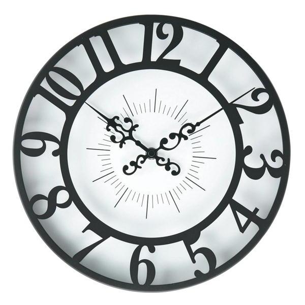 GISEL ジゼル 掛け時計 ブラック CL-4960の写真