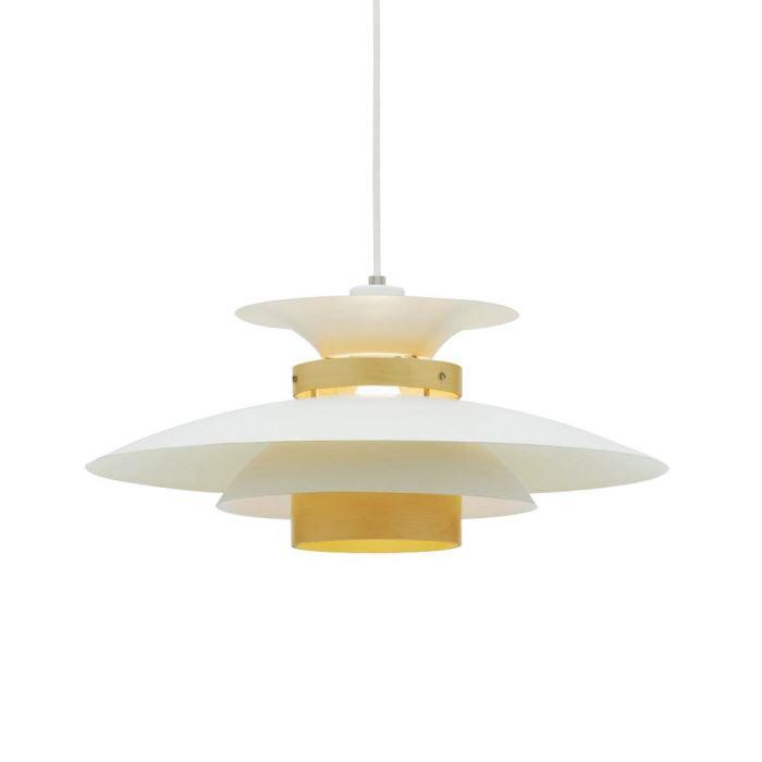 LEDペンダントライト 1灯式 - MERCERO NA ナチュラル(自然木色) LED_LT-7443NA LED電球付属(alllight)の写真