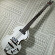 Hofner LIMITED IGNITION BASS Silver Metallic