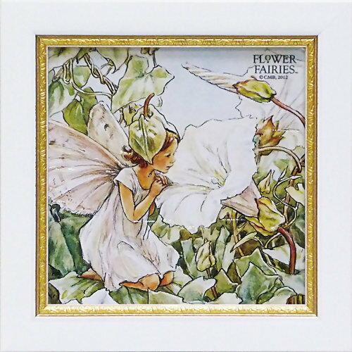 ユーパワー フラワーフェアリーズ ミニゲルアートフレーム ホワイトバインドウィードフェアリー FF-02043