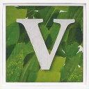 アルファベット アートフレーム グリーン V