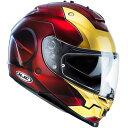 HJC フルフェイスヘルメット HJH107 MARVEL IS-17 IRON MAN アイアンマン サイズ:L 59-60cm