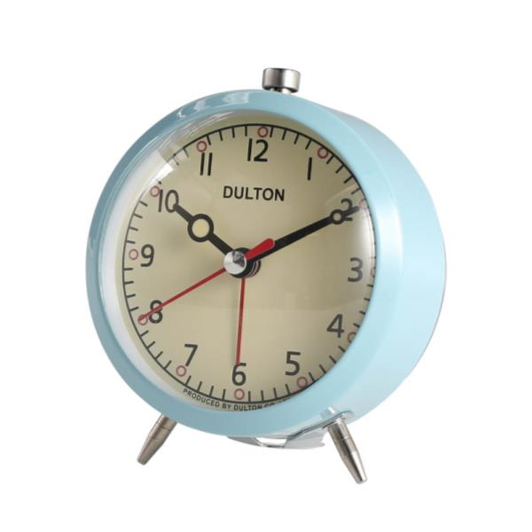 DULTON/ダルトン アラーム クロック (クォーツ)(100053Q)<サックス>