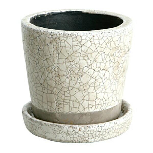 DULTON Color glazed pot カラフル テラコッタポット 植木鉢 CH13-G476IVの写真