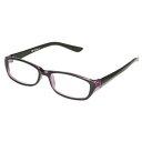 DULTON 老眼鏡 (WA023BPL)READING GLASSES BK/PURPLE 1.0