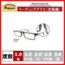 YGJ77/フレームの柄がポップなシャープなデザインの老眼鏡 1.0 JUNGLE