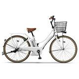 ヤマハ 26型 電動アシスト自転車 PAS Ami スノーホワイト/内装3段変速 PA26A