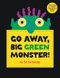GO AWAY,BIG GREEN MONSTER!(H) /LITTLE BROWN USA/ED EMBERLEY