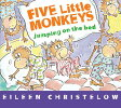 FIVE LITTLE MONKEYS JUMPING ON THE BED(B /HOUGHTON MIFFLIN (USA)./EILEEN CHRISTELOW