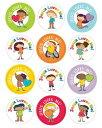 Jesus Loves Me! Sticker Pack /CARSON DELLOSA PUB CO/Carson-Dellosa Publishing