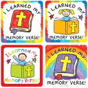 I Learned My Memory Verse Sticker Pack /CARSON DELLOSA PUB CO/Carson-Dellosa Publishing