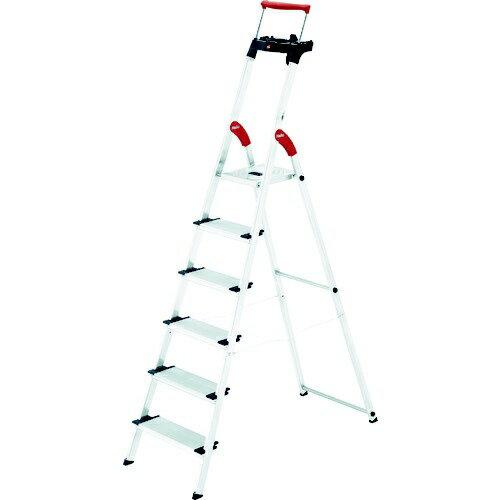 Hailo XXR-6 上枠付踏台 6段 ハイロ社  脚立 折りたたみステップ 家庭用はしご 折り畳み Hailo ハイロの写真