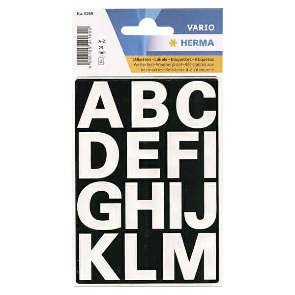ヘルマラベル #4169(防水シール)(アルファベット) 304169