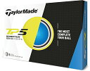 テーラーメイド TP5 ゴルフボール 1ダース12個入り イエロー日本画像