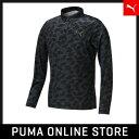 PUMA プーマ ゴルフ LSポロシャツ S black 923432画像