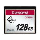 Transcend Cfast 2.0 カード 128GB TS128GCFX650