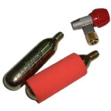 TNI CO2 ボンベセット(バルブタイプ) 赤ヘッド