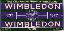ウィンブルドン WIMBLEDON テニスタオル 2018 チャンピオンシップタオル メンズ グリーン 41076948画像