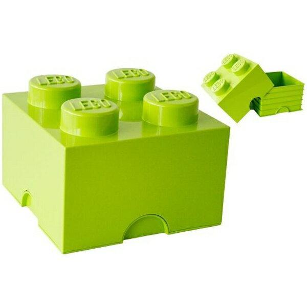 LEGO レゴSTブリック4-LIME・G