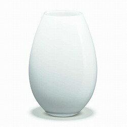 花瓶 HOLMEGAARD ホルムガード COCOON VASE WHITE H20.5cmコクーン ベース ホワイト H20.5cmフラワーベース 4343202