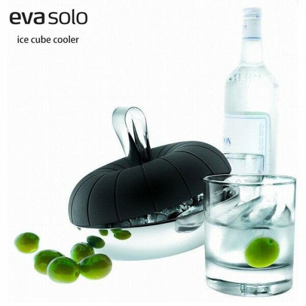 アイス キューブ クーラー ブラック×シルバー / eva solo