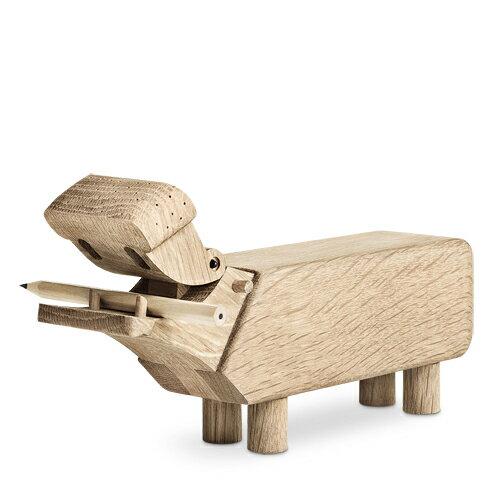 カバ KAY BOJESEN DENMARK カイ・ボイスン デンマーク Hippo カバ 39202 木製玩具