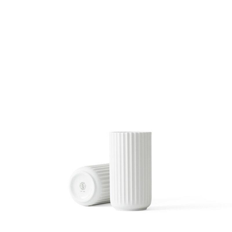 Lyngby Porcelaenリュンビュー ベース 15cm ホワイト 200775LYNGBY VASE/リュンビュー ポーセリン近代アート