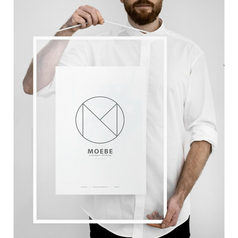 MOEBE フレーム A2 ホワイト ムーベ 北欧 デンマークの写真